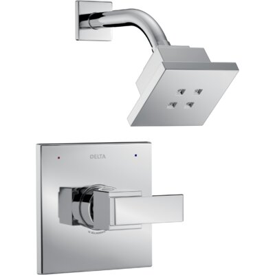 Ara Monitor� Shower Trim with Lever Handle Finish: Chrome