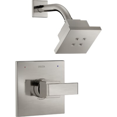 Ara Monitor� Shower Trim with Lever Handle Finish: Brilliance Stainless