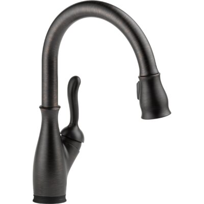 Leland Single Handle Standard Kitchen Faucet Finish: Venetian Bronze