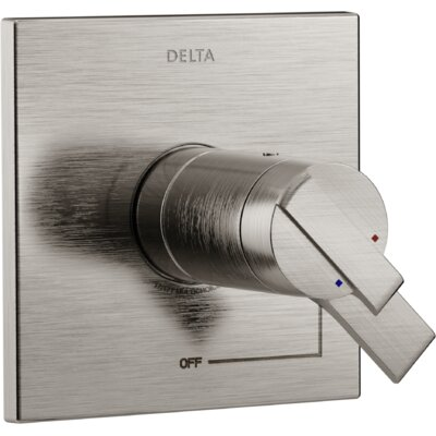 Ara TempAssure� Valve Only Trim with Lever Handle Finish: Brilliance Stainless