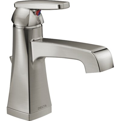 Ashlyn Single hole Bathroom Faucet with Drain Assembly and Diamond Seal Technology