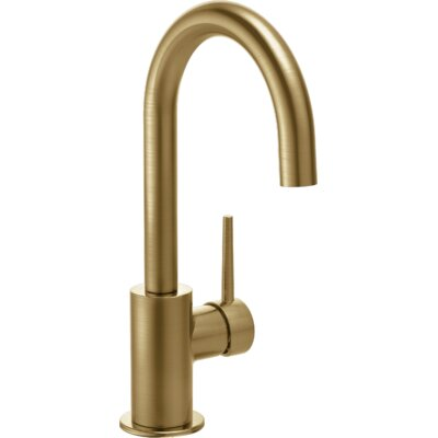 Trinsic Kitchen Single Handle Centerset Bar Prep Faucet Finish: Brilliance Champagne Bronze
