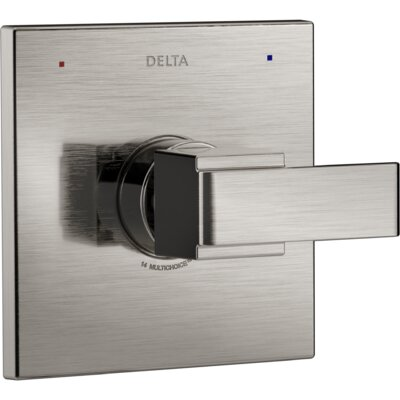 Ara Monitor� Valve Only Trim with Lever Handle Finish: Brilliance Stainless