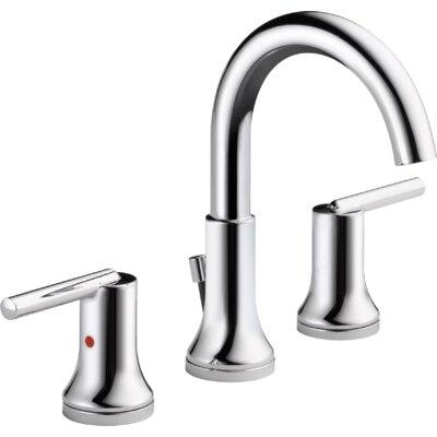 Trinsic� Bathroom Standard Faucet Lever Handle Bathroom Faucet with Drain Assembly Finish: Chrome
