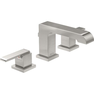Ara Standard Bathroom Faucet Lever Handle with Drain Assembly Finish: Brilliance Stainless