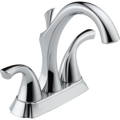 Addison? Centerset Double Handle Bathroom Faucet with Drain Assembly and Diamond Seal Technology Finish: Chrome