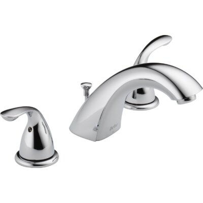 Two Handle Widespread Lavatory Faucet Finish: Chrome