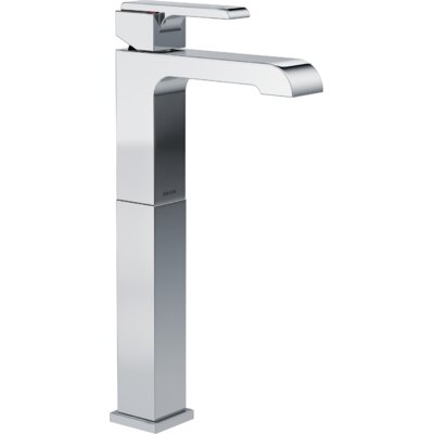 Ara Single Handle Centerset Lavatory Faucet with Riser Finish: Chrome