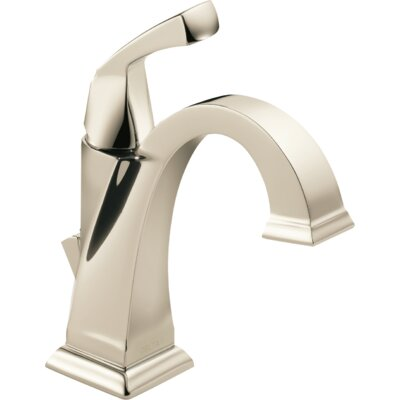 Dryden? Single hole Single Handle Bathroom Faucet with Drain Assembly and Diamond Seal Technology Finish: Brilliance Polished Nickel