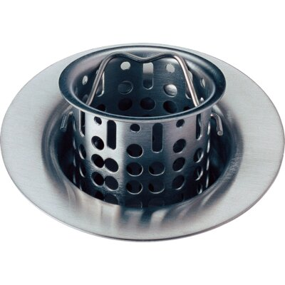 Bar Prep Sink Flange and Basket Strainer Stopper Flange Finish: Arctic Stainless