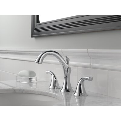 Addison Widespread Bathroom Faucet with Double Lever Handles Finish: Chrome