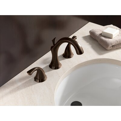 Addison Widespread Bathroom Faucet with Double Lever Handles Finish: Venetian Bronze