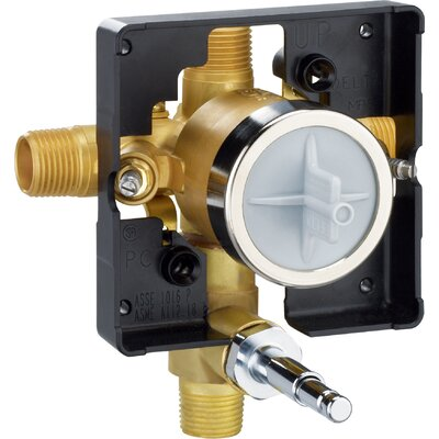 MultiChoice� Universal Valve Body with Push Button Diverter