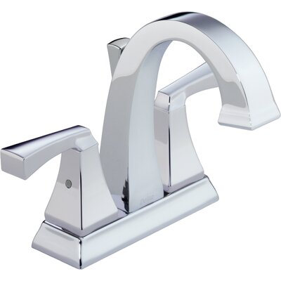 Dryden? Centerset Double Handle Bathroom Faucet and Diamond Seal Technology Finish: Chrome