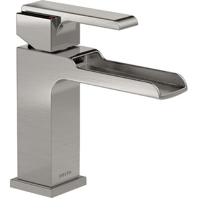 Ara Single Hole Single Handle Waterfall Faucet Finish: Brilliance Stainless