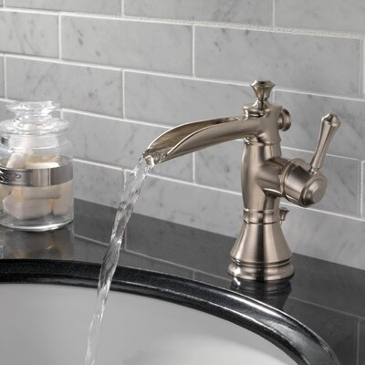 Cassidy Single Handle Centerset Bathroom Faucet with Channel Spout with Metal Pop-Up Drain Finish: Brilliance Stainless
