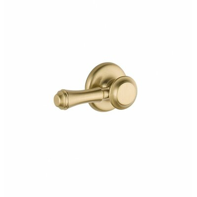 Cassidy Standard Tank Lever Finish: Brilliance Champagne Bronze