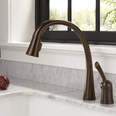 Pilar Single Handle Standard Kitchen Faucet with Touch Technology Finish: Venetian Bronze, Soap Dispenser: Without Soap Dispenser