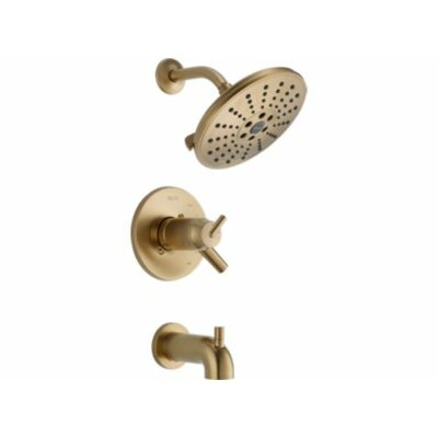 Trinsic� Bathroom Thermostatic Tub and Shower Trim Finish: Brilliance Champagne Bronze