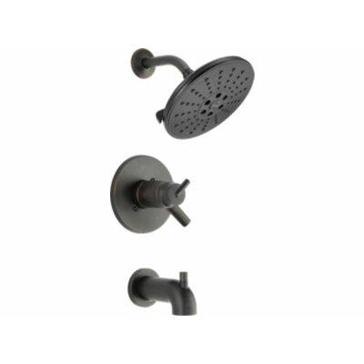Trinsic� Bathroom Thermostatic Tub and Shower Trim Finish: Venetian Bronze