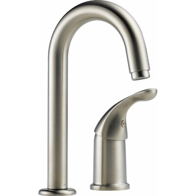 Core 100/300/400 Series Single Handle Deck Mounted Bar Faucet Finish: Brilliance Stainless