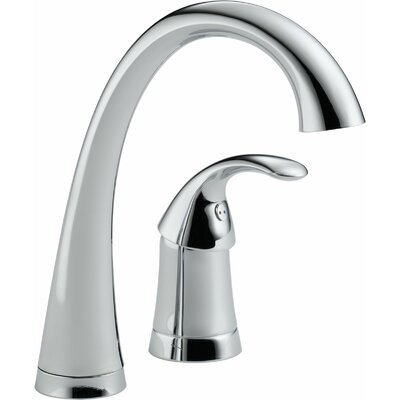 Pilar Single Handle Bar Faucet Finish: Chrome