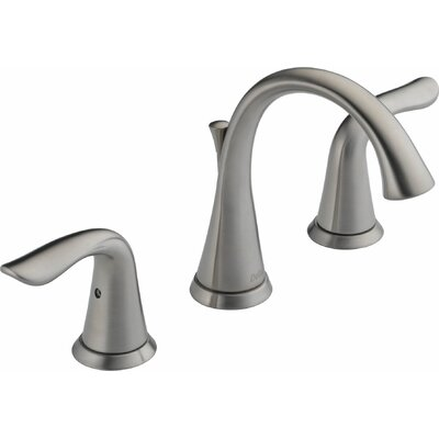 Lahara Widespread Bathroom Faucet with Double Lever Handles Finish: Brilliance Stainless