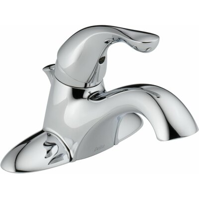 Centerset Single Handle Bathroom Faucet with Drain Assembly and Diamond Seal Technology Finish: Chrome, Optional Accessories: With Pop-Up Drain