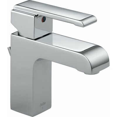 Arzo Series Single Hole Bathroom Faucet with Single Handle Finish: Chrome
