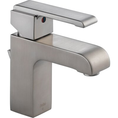 Arzo Series Single Hole Bathroom Faucet with Single Handle Finish: Brilliance Stainless