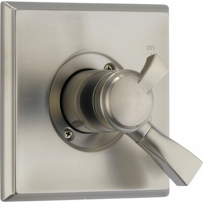 Dryden Monitor Pressure Balance Valve Trim with Volume Control Finish: Brilliance Stainless