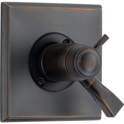Dryden Thermostatic Tub and Shower Faucet Lever Finish: Venetian Bronze