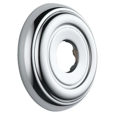 Botanical Flange for Shower Faucet Finish: Chrome
