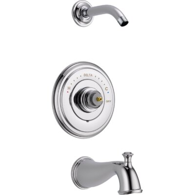 Cassidy MultiChoice(R) 14 Series Tub and Shower Trim Finish: Chrome