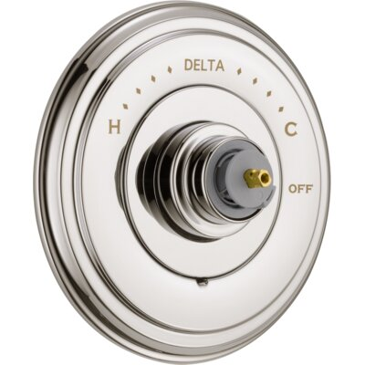 Cassidy MultiChoice(R) 14 Series Valve Trim Finish: Brilliance Polished Nickel