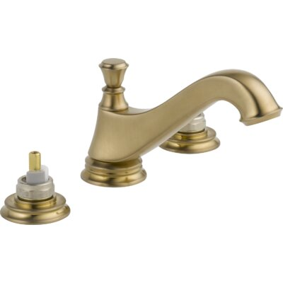 Cassidy Double Handle Widespread Bathroom Faucet Finish: Brilliance Champagne Bronze