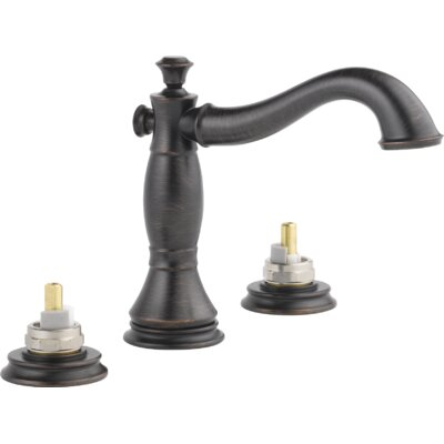 Cassidy Double Handle Widespread Bathroom Faucet with Metal Pop Up Finish: Venetian Bronze