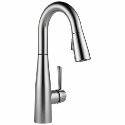 Essa Single Handle Pull Down Bar Faucet Finish: Arctic Stainless