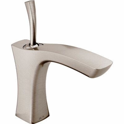 Tesla� Single hole Single Handle Bathroom Faucet and Diamond Seal Technology Finish: Brilliance Stainless