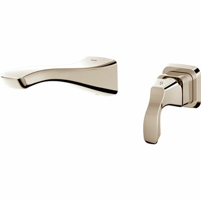 Tesla� Single Handle Wall Mount Lavatory Faucet Finish: Brilliance Polished Nickel
