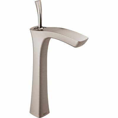 Tesla� Single Hole Vessel Faucet Finish: Brilliance Stainless