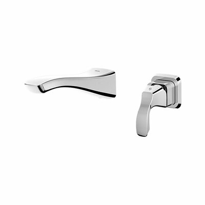 Tesla� Single Handle Wall Mount Lavatory Faucet Finish: Chrome