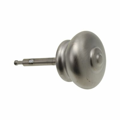Leland Roman Tub Lift Rod and Finial Finish: Brilliance Stainless