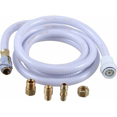 6 Vegetable Spray Hose Bathroom / Kitchen Faucet Finish: White