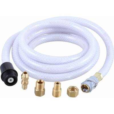 6 Vegetable Spray Hose Bathroom / Kitchen Faucet Finish: Black