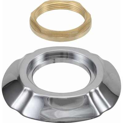 Addison Handle Base with Gasket and Nut Finish: Chrome