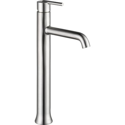 Trinsic Bathroom Vessel Faucet Lever Finish: Brilliance Stainless
