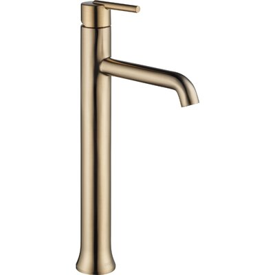 Trinsic Bathroom Vessel Faucet Lever Finish: Brilliance Champagne Bronze