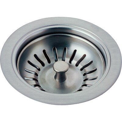 Kitchen Sink Flange and Basket Strainer Stopper Flange Finish: Arctic Stainless
