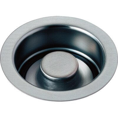 Kitchen Disposal and Stopper Flange Finish: Arctic Stainless